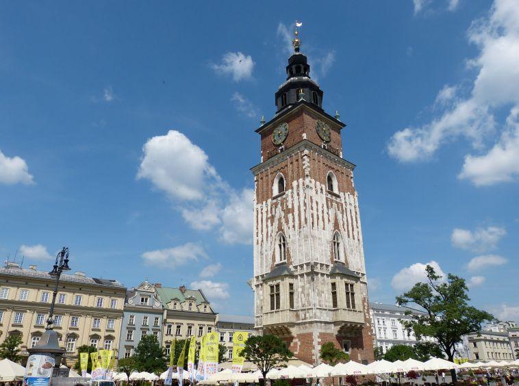 Rathaus in Krakau