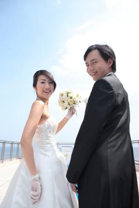 Asiatische Hochzeit